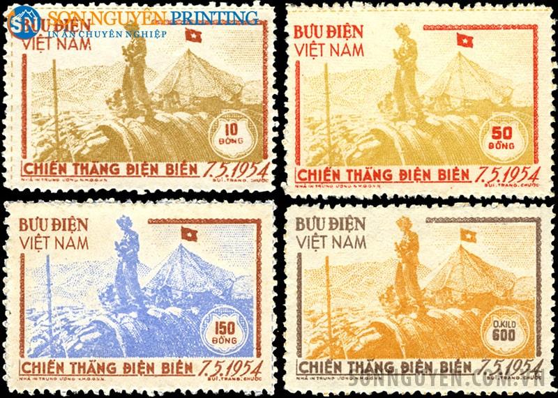 Một số mẫu tem Việt Nam