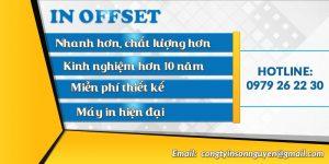Dịch vụ in Offset 2017, giá tốt, chất lượng