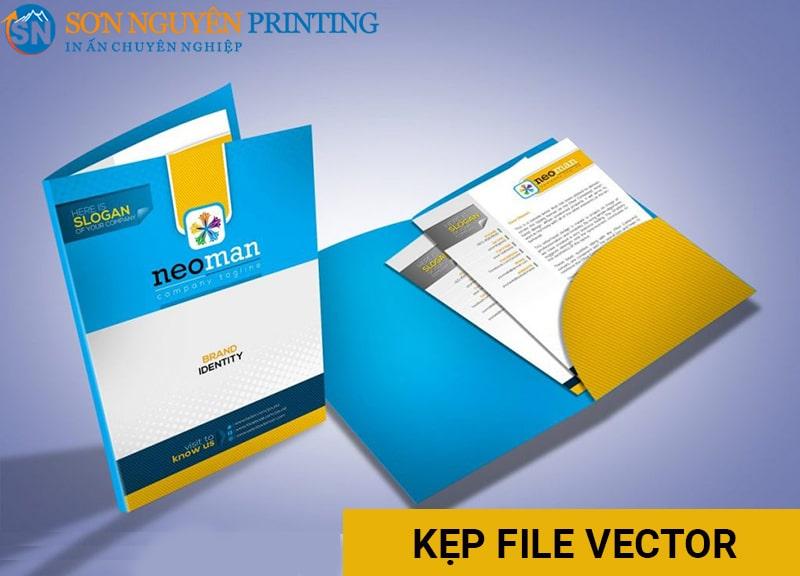 In kẹp file vector tại Sơn Nguyên