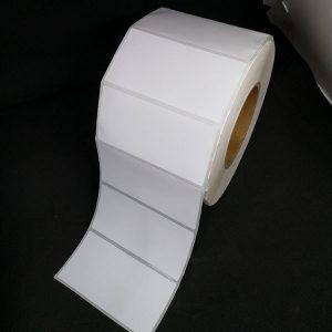 Tem decal giấy mã vạch 100x50mm dài 100m 4