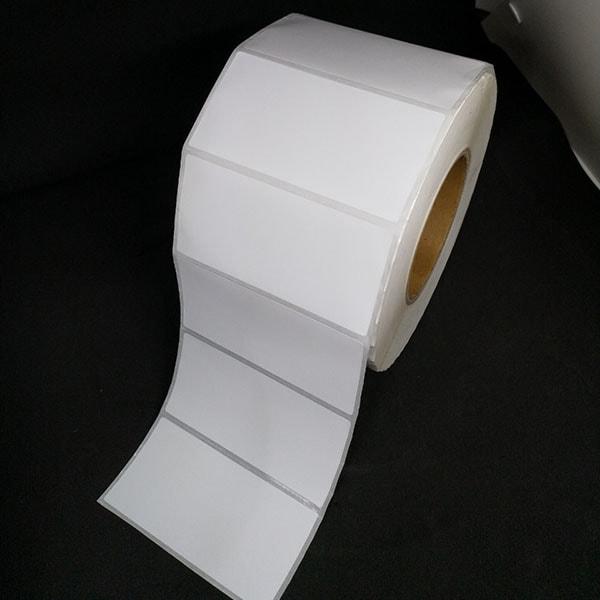 Tem decal giấy mã vạch 100x50mm dài 100m 1