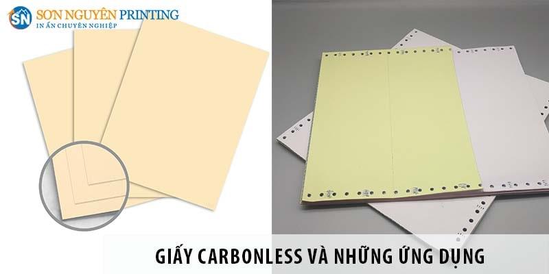 Giấy Carbonless là gì? Những ứng dụng trong ngành in ấn