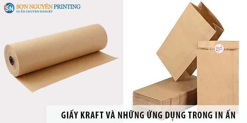Giấy Kraft là gì và những ứng dụng trong in ấn