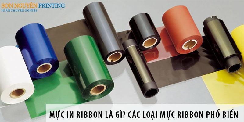 Mực in Ribbon là gì? Các loại mực Ribbon phổ biến