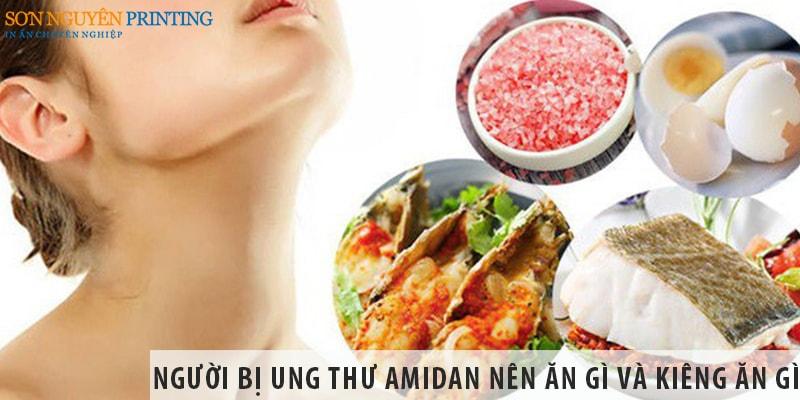 Người bị ung thư amidan nên ăn gì và kiêng ăn gì?